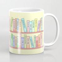 Classics Bookshelf Mug