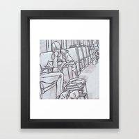SUBWAY 2 Framed Art Print