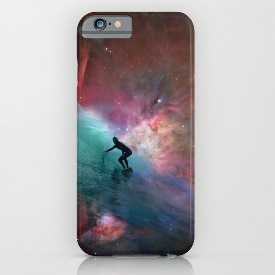 Nebulous Surfing iPhone & iPod Case
