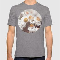 Pearly Everlasting Mens Fitted Tee Tri-Grey SMALL