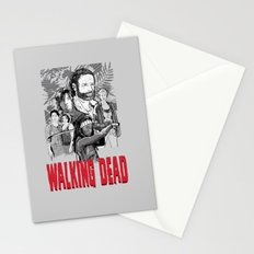 Walking Dead Stationery Cards