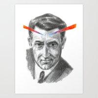 Cary Grant LSD Art Print