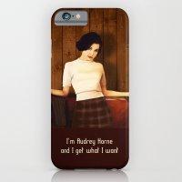 Audrey Horne iPhone 6 Slim Case