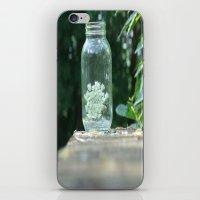 Queen Anne's Lace/Jar w/ bokeh iPhone & iPod Skin