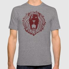 The Lion's Sin of Pride Mens Fitted Tee Tri-Grey SMALL