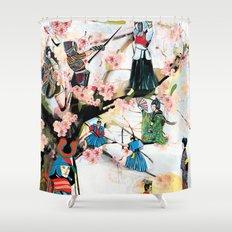 Japanese 2  Shower Curtain