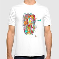 Capricious Mens Fitted Tee White SMALL