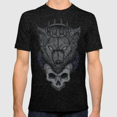 The North Remembers Mens Fitted Tee Tri-Black SMALL