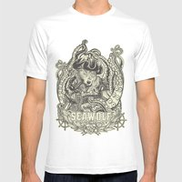 SeaWolf Mens Fitted Tee White SMALL