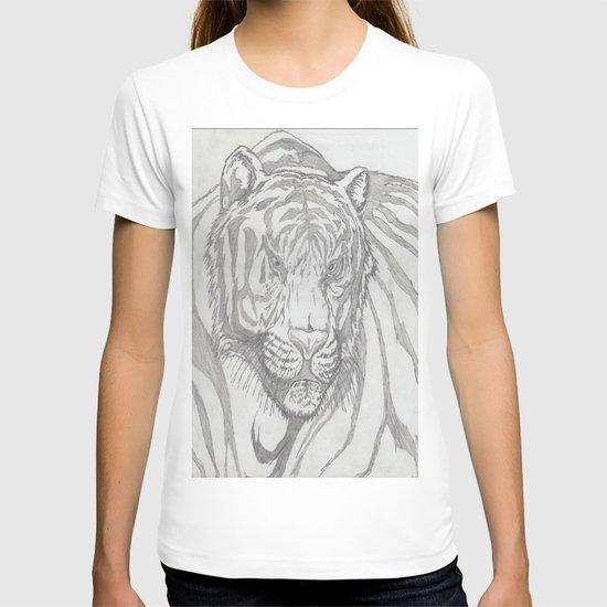 large tiger T-shirt