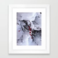 birdfood Framed Art Print