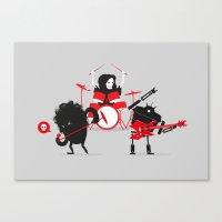 Monsters Of Metal Canvas Print