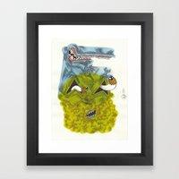 UNITED COLORS Framed Art Print
