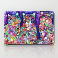 Candy cats iPad Case
