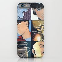 iPhone & iPod Case featuring Akira: Pulped Fiction edition by InvaderDig