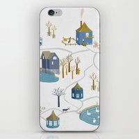 BLUE VILLAGE iPhone & iPod Skin