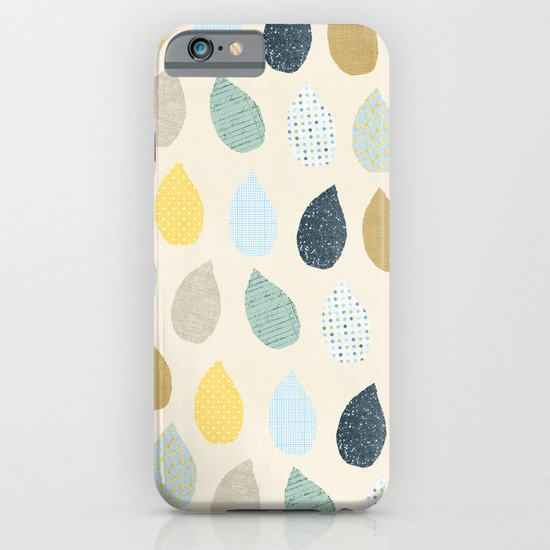 rain drops pattern iPhone & iPod Case