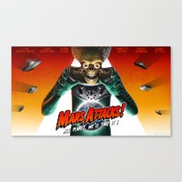 Mars Attacks ! Canvas Print