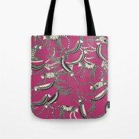 Monkey Pink Tote Bag