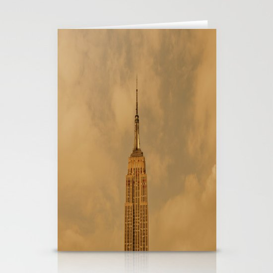 Empire State Isolation (for devices) Stationery Card