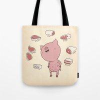 Pork Tote Bag