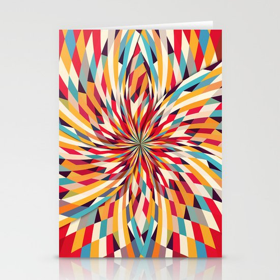 In Flower Stationery Card
