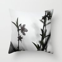 Blossom II Throw Pillow