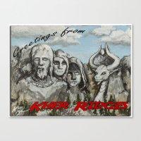 Kher Ridges Canvas Print
