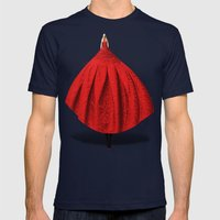 The Models Project Mens Fitted Tee Navy SMALL