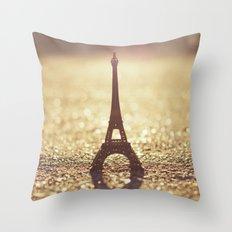 Paris, City of Light Throw Pillow