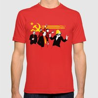 The Communist Party (original) Mens Fitted Tee Red SMALL