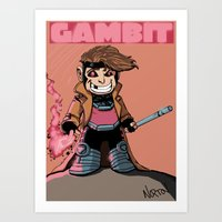 Kiddie Gambit Art Print
