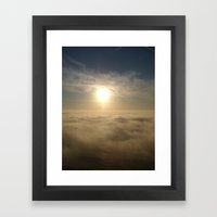 Breaking Thru Framed Art Print