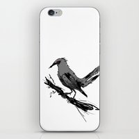 The Crow iPhone & iPod Skin