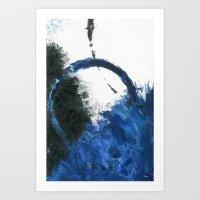 Azure Art Print