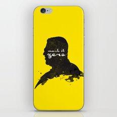 Mark it Zero –Walter Sobchak Silhouette Quote iPhone & iPod Skin