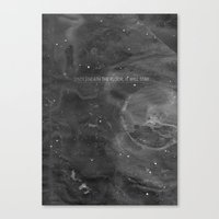 Underneath The Floor, It Will Stay Canvas Print