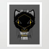 Le Chat Sinistre Art Print