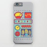 iPhone & iPod Case featuring Retrobot by Jason Castillo