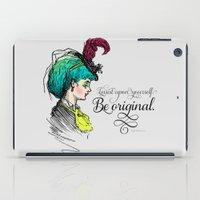 Be original. iPad Case