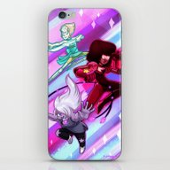 iPhone & iPod Skin featuring Steven Universe Crystal … by Prpldragon