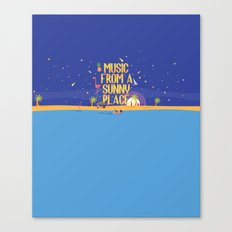Music From A Sunny Place Canvas Print