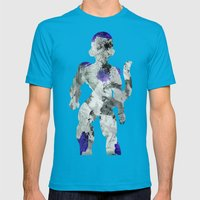 Lord Frieza - Digital Watercolor Painting Mens Fitted Tee Teal SMALL
