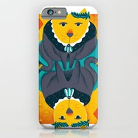 iPhone & iPod Case featuring Cat the King of Diamonds by Vasilisa Wise