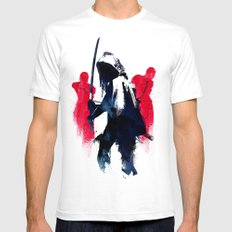 Michonne Mens Fitted Tee White SMALL