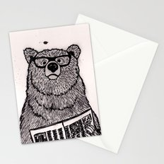 Smarter than the average... Stationery Cards