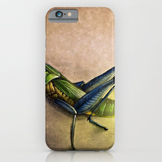 The Firefly and the Grasshopper iPhone & iPod Case