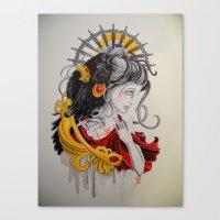 End Strife Canvas Print