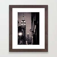 What Time Is It? Framed Art Print