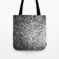 Silver Vivid  Tote Bag